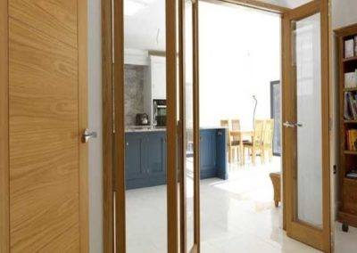 Oak-glazed-bifold-doors